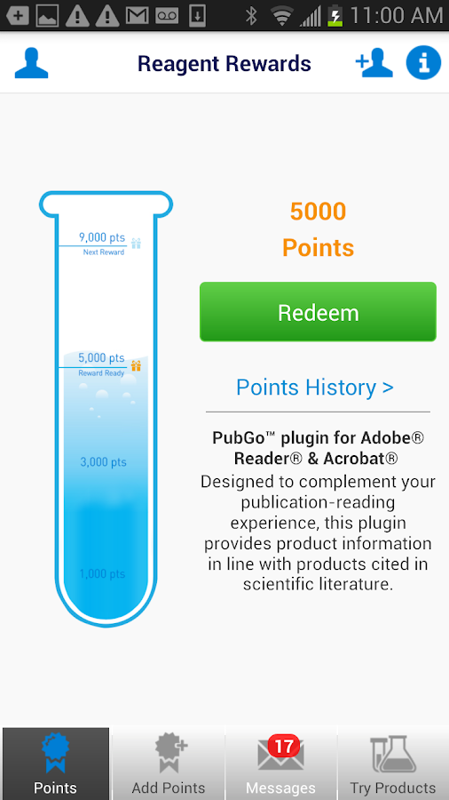 Life Science Rewards - screenshot