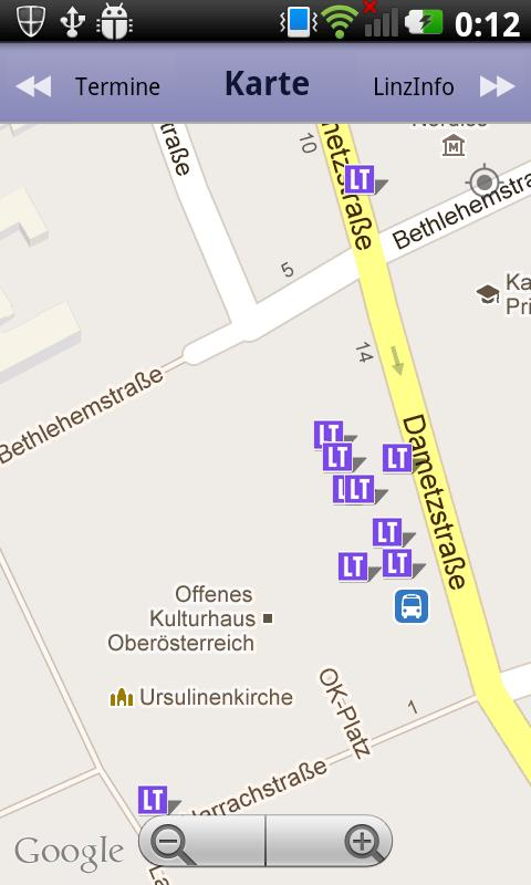 Linz Info - Hotspots, Events..- screenshot