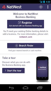 NatWest Business Banking - screenshot thumbnail