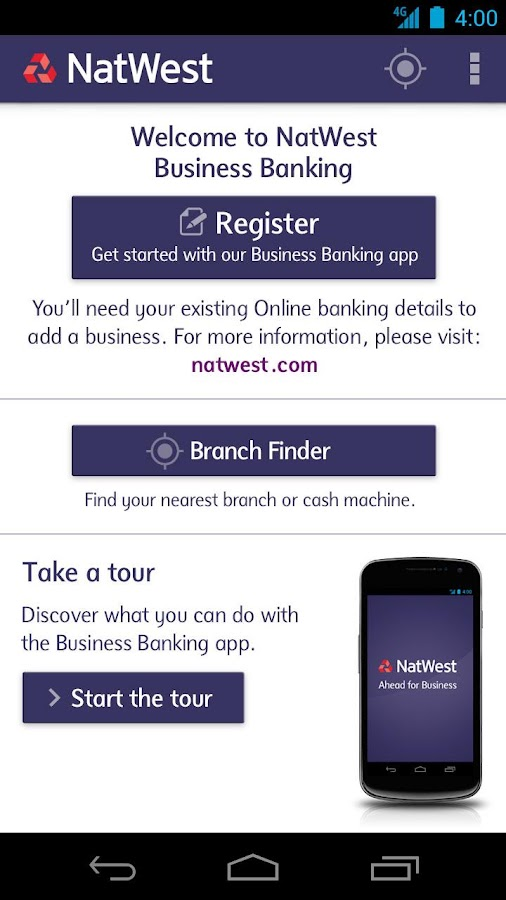 NatWest Business Banking - screenshot