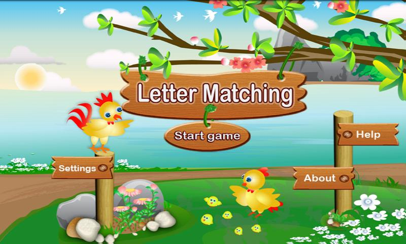 Letter Matching - screenshot
