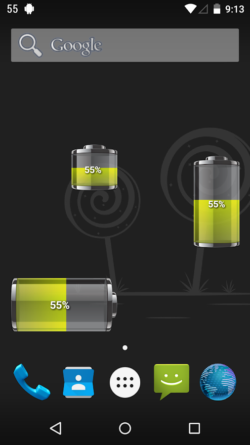 Battery HD Pro- screenshot