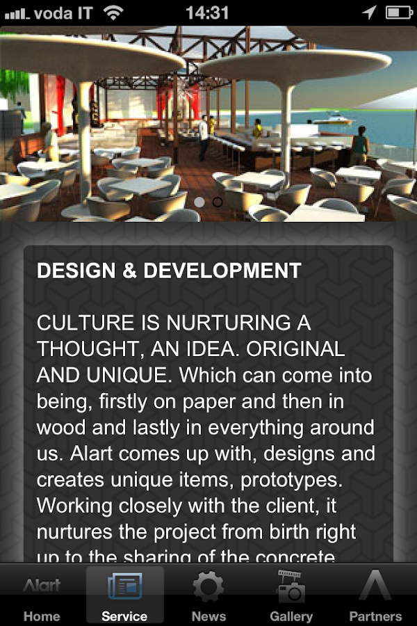 Alart furnishing culture - screenshot