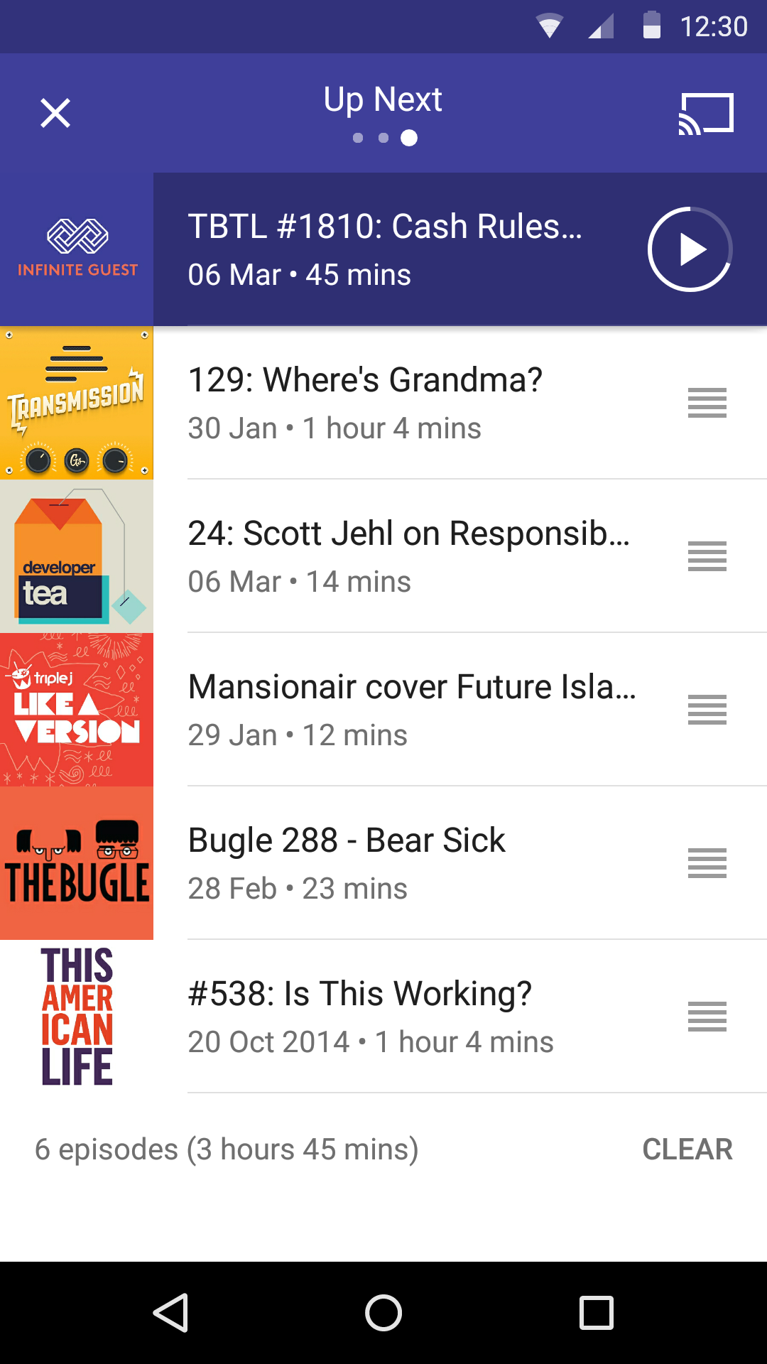 Pocket Casts screenshot #7