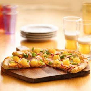 Canadian Bacon and Pineapple Pizza.