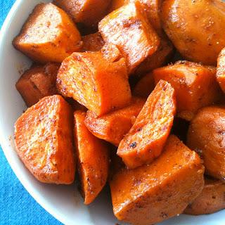 Ancho Roasted Sweet Potatoes