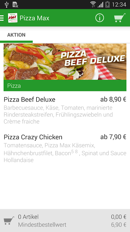Pizza Max- screenshot