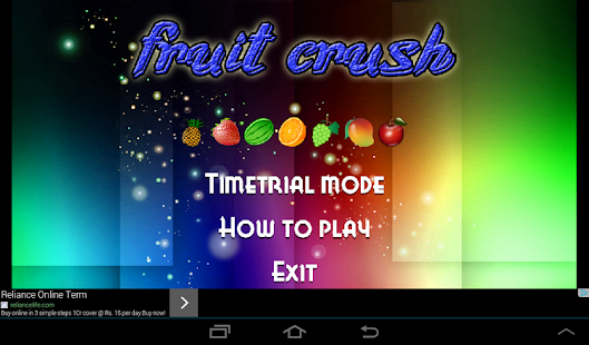 Fruits smash