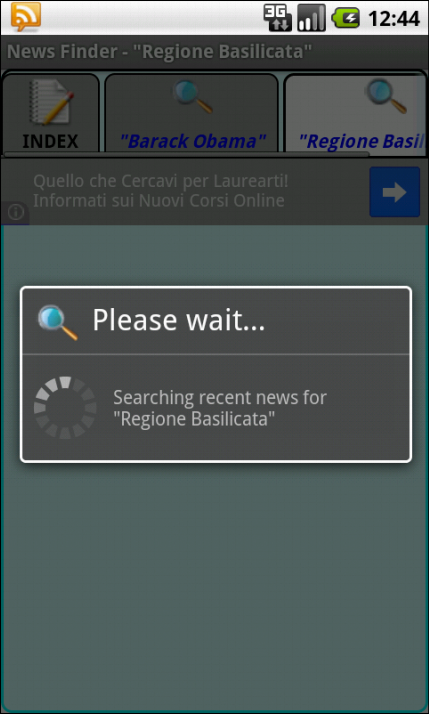 News Finder - screenshot