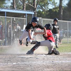 Home by Zeralda La Grange - Sports & Fitness Baseball ( #sport, #home, #baseball, #youth, #action,  )