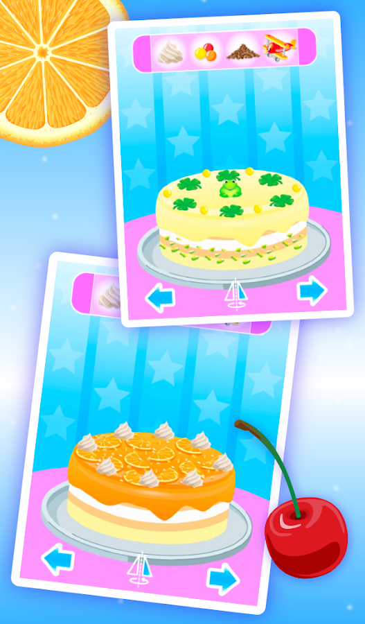 Cake Maker Kids (Ads Free)- screenshot