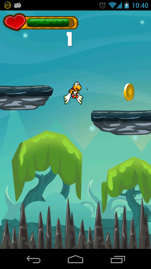 Tufy - The flying turtle - screenshot
