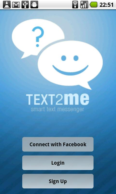Text2Me - Free SMS - screenshot