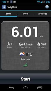 EasyRun - GPS Running Tracker