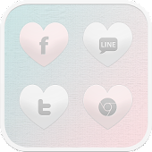 Give me love icon theme