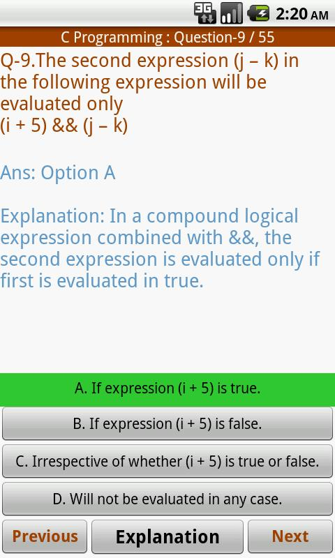 Computer Science MCQ- screenshot