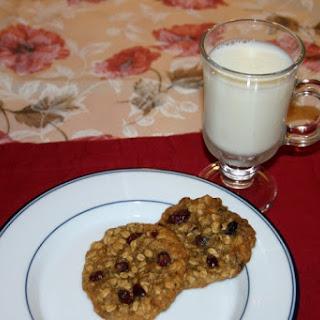 Oatmeal Cranberry Raisin Cookies