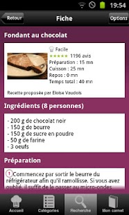 Cuisine : 25 000 recettes - screenshot thumbnail