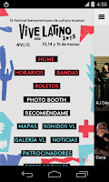 Screenshot of Vive Latino 2015