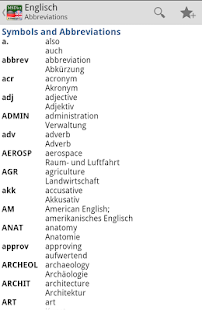 Dictionary German <-> English- screenshot thumbnail