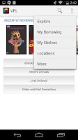Screenshot of VPL Mobile