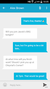 mysms SMS Text Messaging Sync - screenshot thumbnail