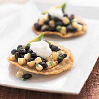 Black Bean & Fresh Corn Tostadas