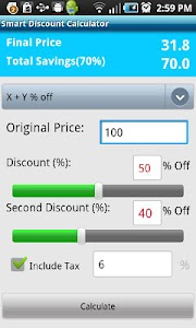 Smart Discount Calculator screenshot 3