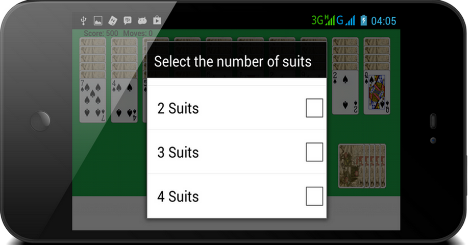 Playing Card Solitaire Games- screenshot