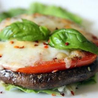 Portobello Mushroom Pizza.
