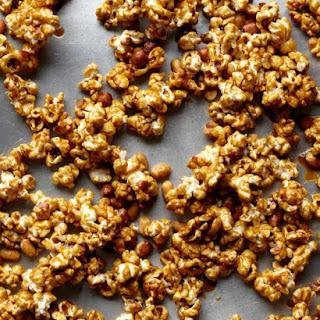 Caramel Corn with Peanuts