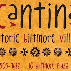 Please see our new logo.  Rebranding as The Cantina Fresh mex and Tequila Bar in Historic Biltmore V