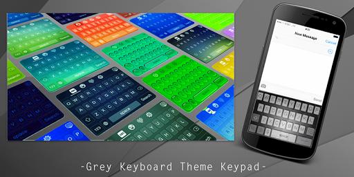 Grey Keyboard Theme Keypad