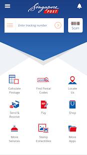 SingPost Mobile App - náhled