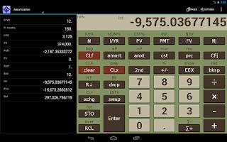 Screenshot of NeoCal Advanced Calculator