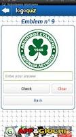 Screenshot of Logo Quiz Football