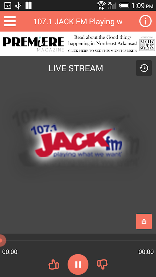 JACK DROID - screenshot