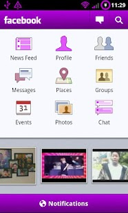 Purple Theme Chooser- screenshot thumbnail