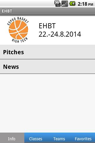 EHBT - screenshot