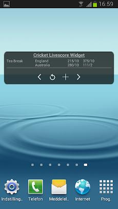 クリケットの試合速報ウィジェットのおすすめ画像4