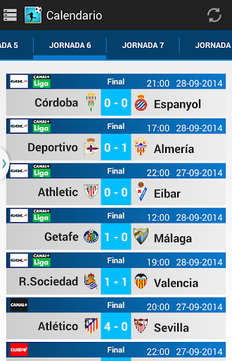 Porra Liga 2014 - 2015