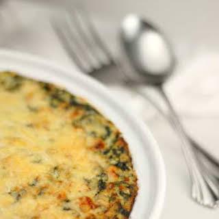 Gluten Free Thanksgiving – Creamed Spinach Gratin.
