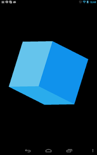Haskell demo: Cube - screenshot thumbnail