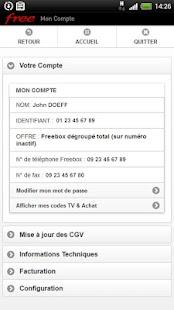 Mon Compte Free - screenshot thumbnail