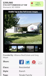 Real Estate Bismarck Mandan- screenshot thumbnail