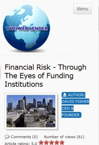 The Web Lender