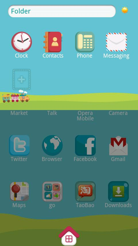 Mini.Trai Theme GO Launcher Ex - screenshot
