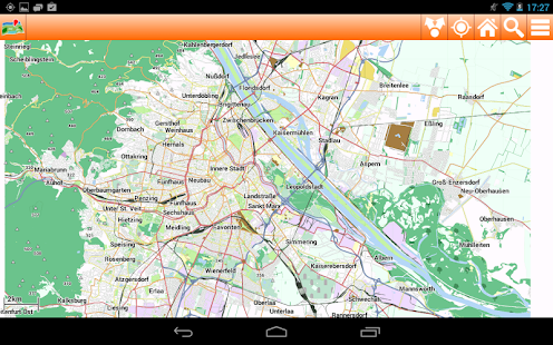 Vienna Offline mappa Map - screenshot thumbnail