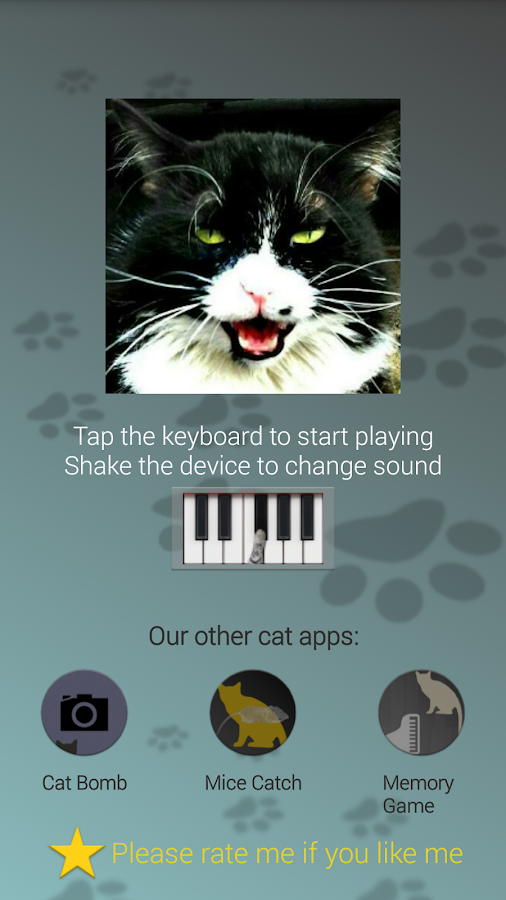 Cat Piano- screenshot