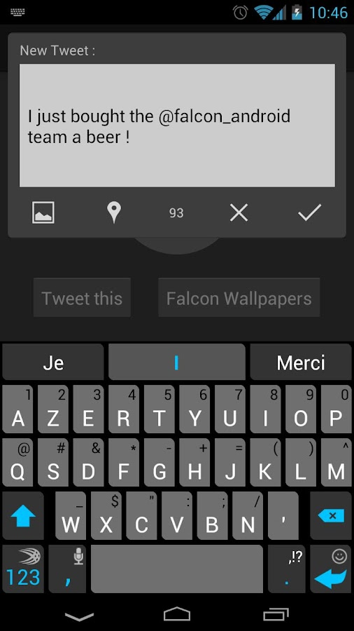 Falcon for Twitter (Donate) - screenshot